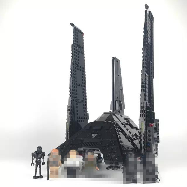 STAR SPACE WARS Krennics Imperial Shuttle Figure Blocks Educational DIY Model Building Bricks Toys for Children loz architecture space shuttle mini diamond nano building blocks toys loz space shuttle diy bricks action figure children toys