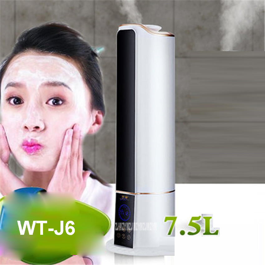 WT-J6 220V Home large capacity mute office bedroom pregnant women small fragrance machine Mist Discharge humidifier 280ml/h
