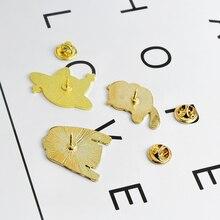 Music CD Cat Brooch Pin