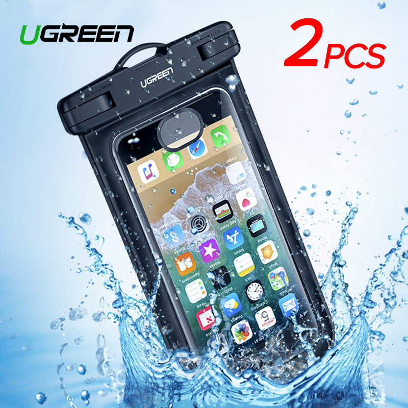 Ugreen чехол для телефона сумка водонепроницаемый чехол для телефона 6,5 ''сумка для телефона чехол для iPhone XR Xs Max X 8 7 6 S samsung Galaxy S9 S8 чехол для теле...