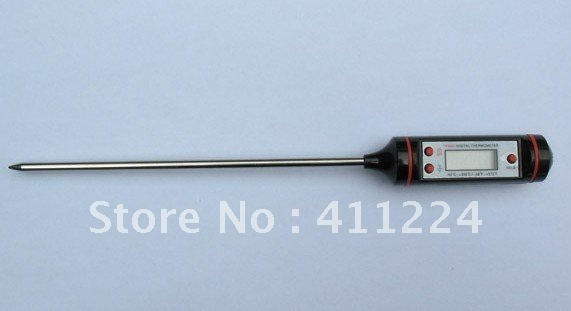 free shipping Kitchen Cooking Food Meat Probe Digital BBQ Thermometer