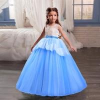 MUQGEW Children Kid Girls Lace PearlPrincess Performance Tutu Dress Outfits Clothes wedding deguisement enfant fille #sg