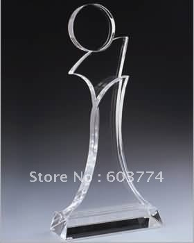 acrylic trophy/ acrylic prize