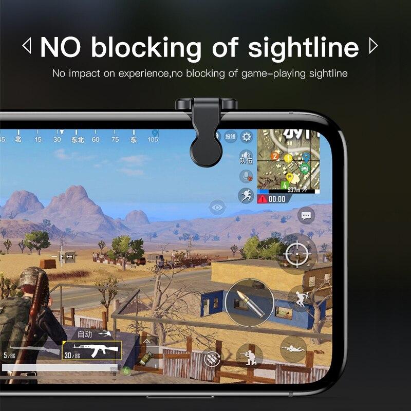 Baseus Gamepad Joystick For PUBG Joypad Trigger Fire Button Aim L1 R1 Key L1R1 Shooter Controller For PUBG Mobile Phone Game Pad 5