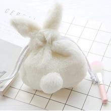 Cute Rabbit Cosmetic Bags Women Make Up Cosmetics