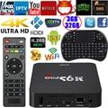 Docooler 64bit m9s-pro 4 k quad core 3 gb ram 32 gb rom inteligente android 5.1 Caixa De TV Amlogic S905 KODI 16.0 WiFi H.265 + Teclado e Mouse