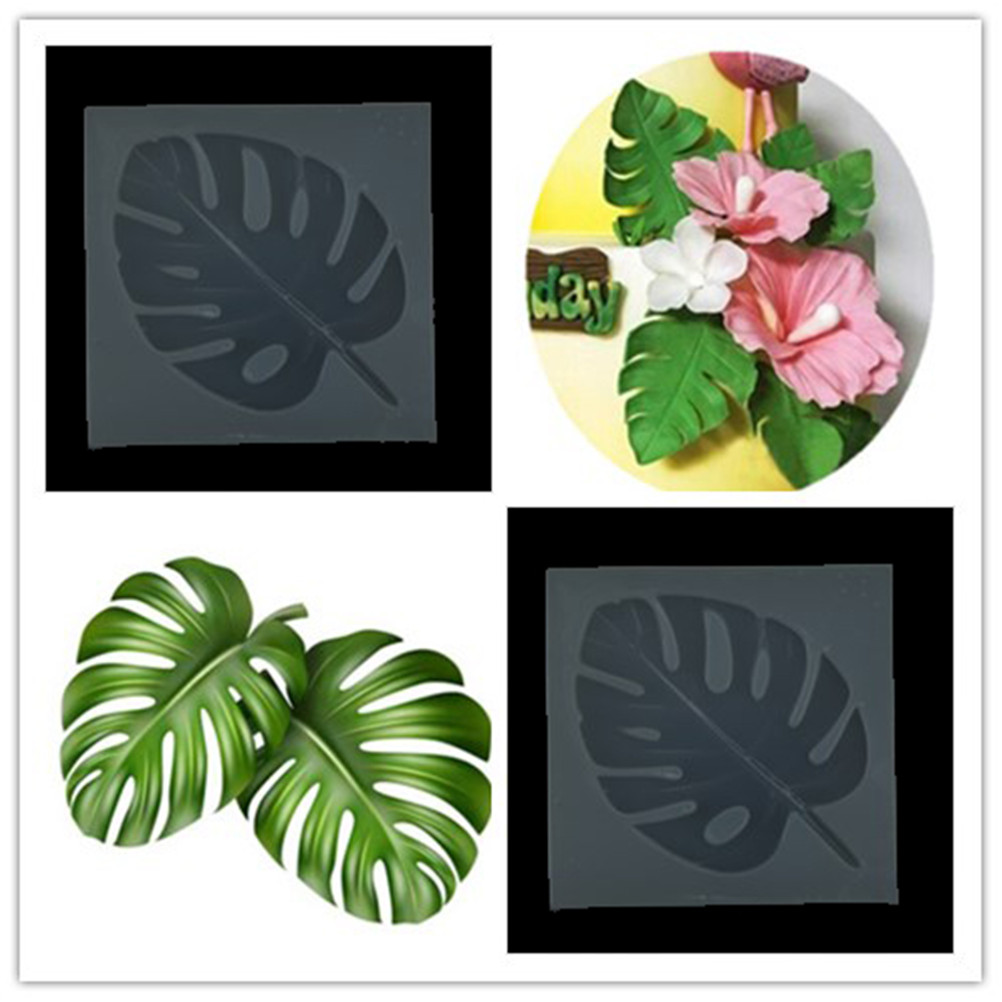 DIY Family Tree One Leaf Mold Craft Art Silicone Candle ...  Plane Tree Leaf Silicone Molds