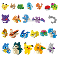 Mini Pokemon Diamond Building Blocks juguetes de Bloques.