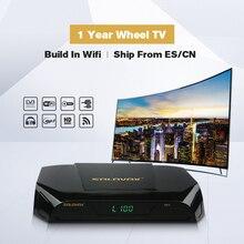 SOLOVOX V9S soporte HDMI y AV receptor de satélite Cine en Casa Smart TV Box construido en WIFI soporte rueda CCCAMD vivo