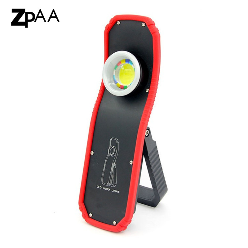 Stalwart Large 60 Led Rechargeable Work Light: LED Work Light Rechargeable 60W Powerful Portable Lighting