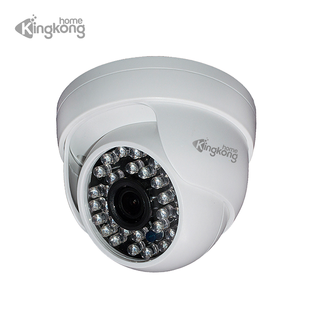 Kingkonghome IP Camera HD 1080P/720P 30 IR LED Dome Cameras Security Indoor Day/Night Vision Home CCTV ONVIF Surveillance Cam wifi ip camera indoor bulb light camera home security cctv surveillance micro camera 720p 1080p mini smart night vision hd cam
