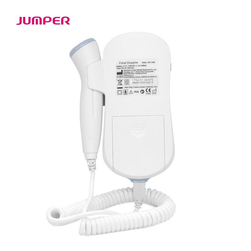 JUMPER Fetal Doppler Heartbeat Detector Portable Ultrasound Pregnant Baby Heart Rate Monitor LCD 3.0MHz Pocket Vascular Doppler  (3)
