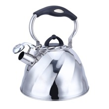 Whistling Kettle Stainless steel Hot water Kettle Kettle with sound-burning Metal Tea Kettle 3 litre недорого