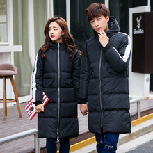 Down padded Winter 2016 couple cotton blended coat zipper males's lengthy informal thick coat males's Asian measurement 3XL clothes, EDA130