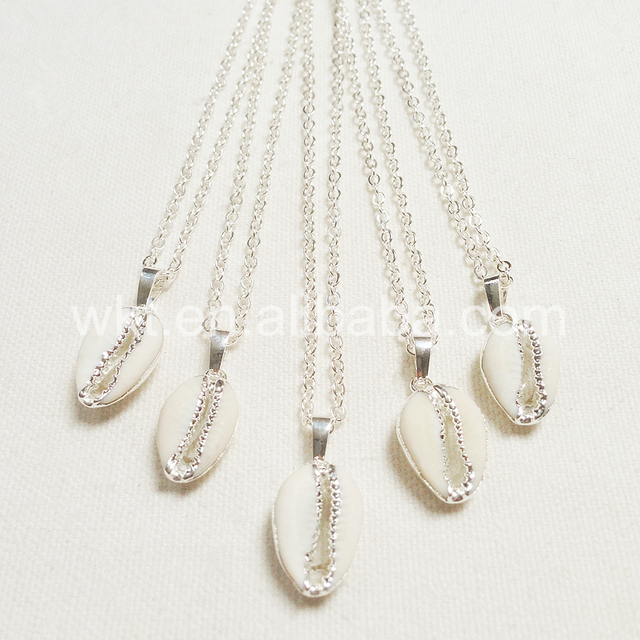 Женское Ожерелье в виде ракушек ювелирное украшение натуральной
