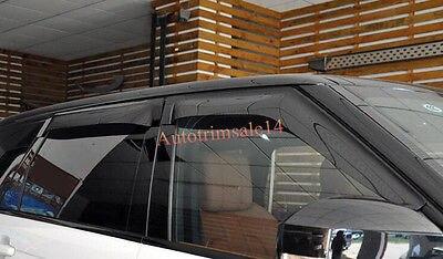 Окно козырек Защита от солнца Vent гвардии отражатель для Land Rover Range Rover Evoque 11 16