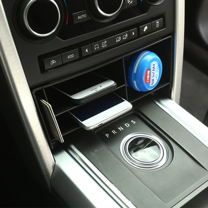 Console centrale boîte de rangement multifonction pour Land Rover Discovery Sport 2015-17