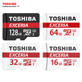100% Оригинал TOSHIBA U3 128 ГБ 64 ГБ Micro SDHC Micro SD MicroSDXC 32 ГБ 16 ГБ C10 Макс Up90M/с TFCard Поддержка Официальная Проверка
