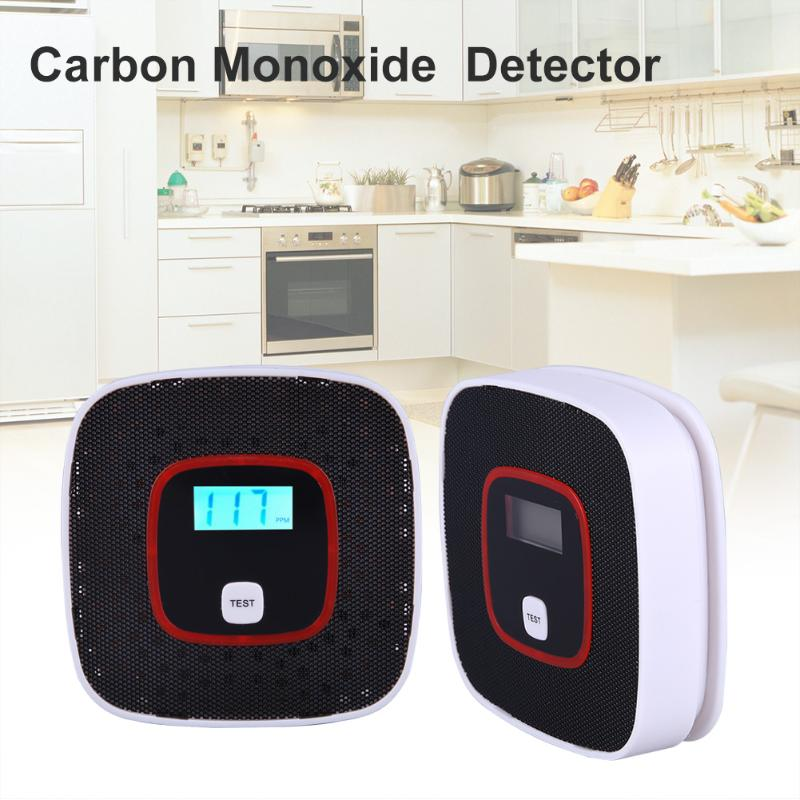 999 PPM Digital Display CO Carbon Monoxide Detectors Voice Strobe Home Security Safety CO Gas Carbon Alarm Detector Sensor Alarm