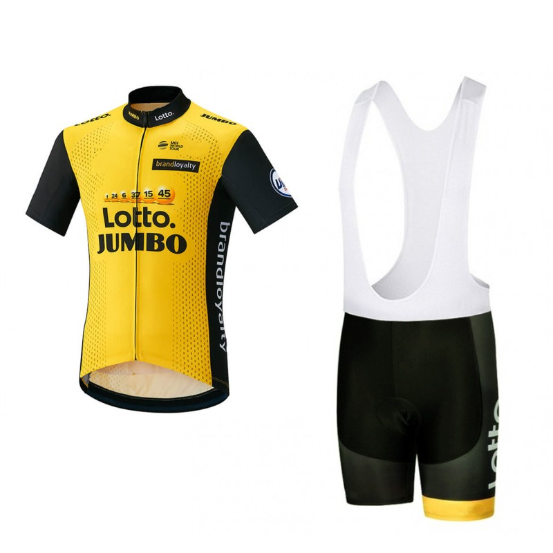 2018 all uci pro team lotto jumbo yellow summer Cycling jerseys breathable bike clothing MTB Ropa Ciclismo Bicycle maillot gel roscyker pro team strava cycling jerseys kits summer bicycle maillot breathable mtb short sleeve bike cloth ropa ciclismo gel