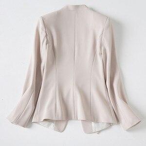 Image 5 - Naviu Nieuwe Mode Blazer Vrouwen Kleding Voor Office Lady Formele Jas Werkkleding Slanke Bovenkleding Plus Size Tops