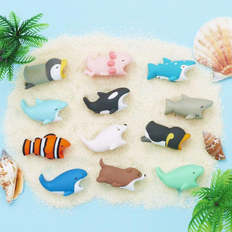 1Pcs Cute Animal Cable Protector Cord Wire Cartoon Protection Mini Silicone Cover Charging Cable Winder For 1Pcs Cute Animal Cable Protector Cord Wire Cartoon Protection Mini Silicone Cover Charging Cable Winder For Iphone Charger Cable