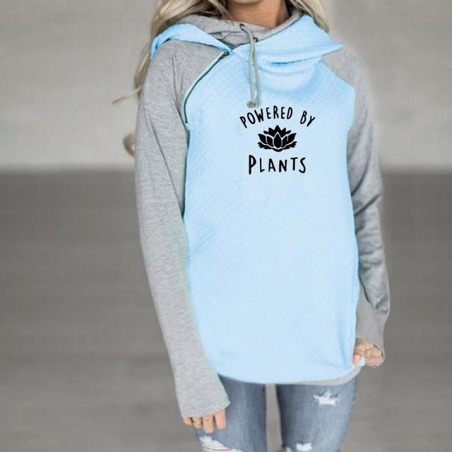 Vegan's Powered by Plants Printed Sweatshirts