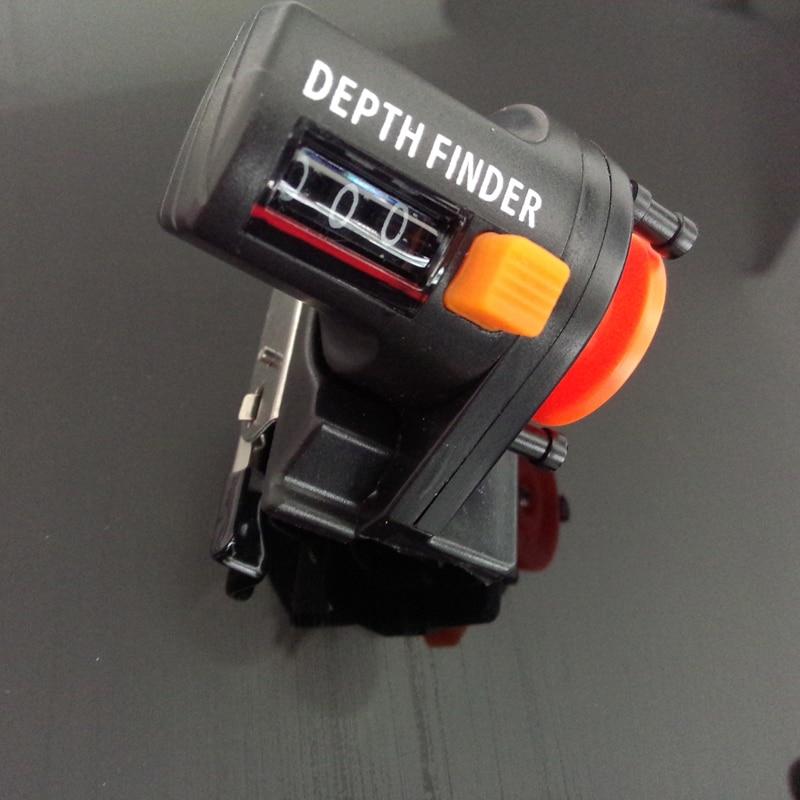 Fishing Rod Line Counter 0-999m Digital Boat Trolling Tools Depth Gauge Plastic