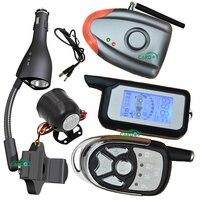 wireless car alarm 2 way shock sensor alarm car never damage to original car wire mobile holder and cigar lighter functions