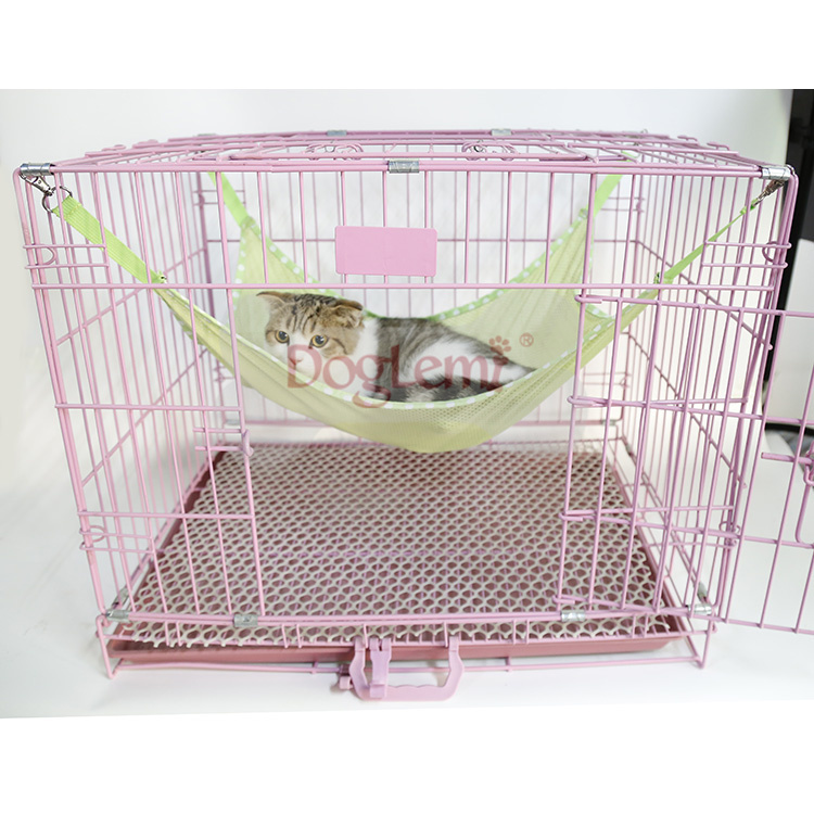 Summer Breathable Mesh Cloth Hammock Cage Clasp Hanging Bed For Pet Cat Animal Elegant And Sturdy Package Cat Beds & Mats Cat Supplies