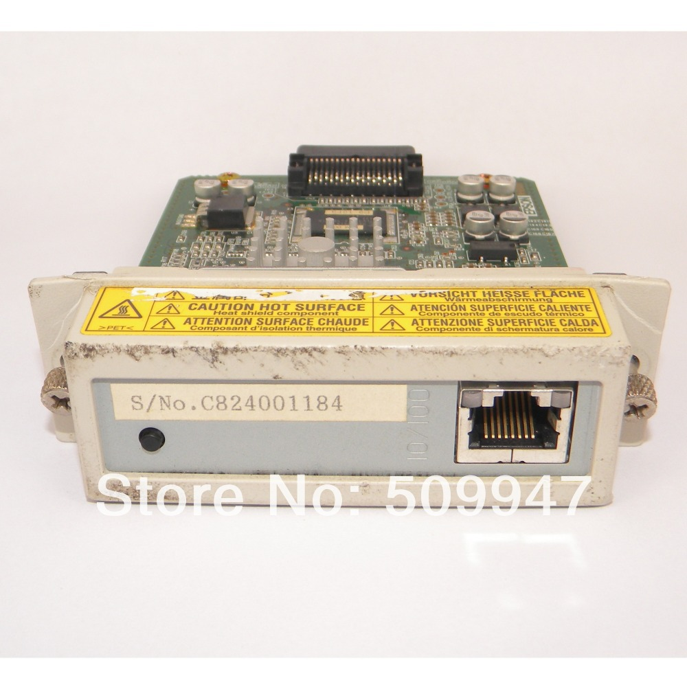 NETWORK CARD EU-74 C82405 I/F ASSY. 208312C  FOR EPSON LABEL PRINTER SHIPPING FREE 100pcs lot printable pvc blank white card no chip for epson canon inkjet printer suitbale portrait member pos system