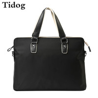 Tidog Boutique Male Bag Handbag Briefcase Business Men Cross Oxford Cloth Bag