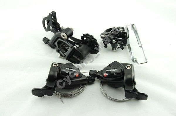Microshift Group Set 3x9 27 Speed for MTB Shifter Front+Rear Derailleur TS-70-9 FD-M20 RD-45L For MTB Shimano велосипедная рама microshift xe2011 9 27 rd m64l