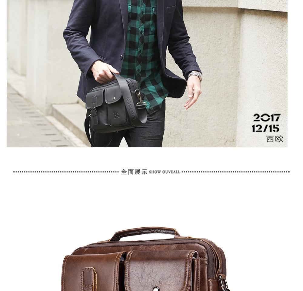 HTB131hiXyLrK1Rjy1zdq6ynnpXaT men Genuine Leather Shoulder Messenger Bag men's Handbag Vintage Crossbody Bag Tote Business Man Messenger Bag