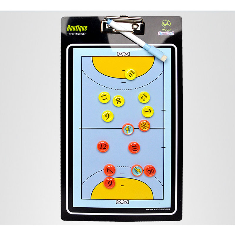 MAICCA Handball Coaching Board Tactical Board Handball Coach Plate With Pen And Dry Erase Coach Equipment Custom-make