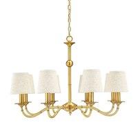 Kupfer Kronleuchter Beleuchtung Luxus Hause Leuchte Abajour Glanz Enfant Kreative Modo Vintage Hängelampe Kupfer lampen|Kronleuchter|Licht & Beleuchtung -