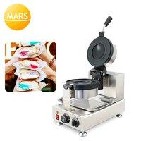 Gelato Panini Press Brioche Burger Commercial Krapfen Warmer Ice Cream Panini Donut Doughnut Pan Machine