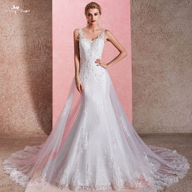 aa47ec735 RSW1474 Sexy Real Pictures Keyhole Backless Beading Wedding Dress Mermaid