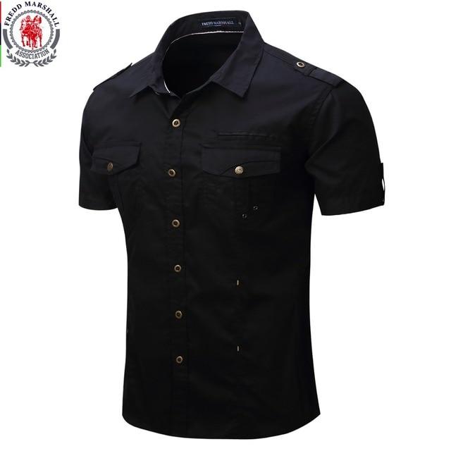 Aliexpress.com : Buy 2016 New Arrive Mens Cargo Shirt Men Casual ...