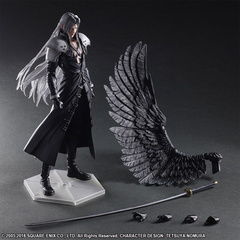 ФОТО Paly Arts Kai Final Fantasy VII 7 Sephiroth PVC Action Figure Collectible Model Toy