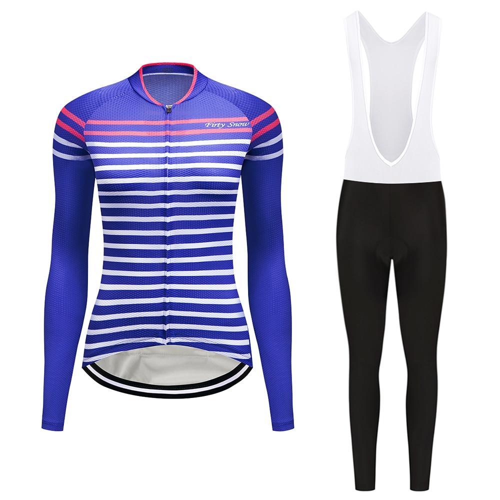 Весенние женские Велосипедная форма/100% полиэстер велосипедов носить Ropa Ciclismo велосипедного спорта Велоспорт Джерси комплект