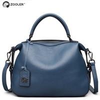 ZOOLER 2019 new designed real soft genuine leather bags women handbags famous brands luxury shoulder bag hot bolsa feminina 8116