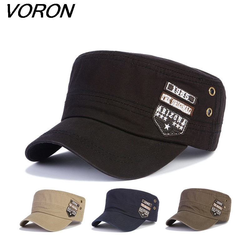 VORON 2017 Hot salg Patch breve baseball cap mænd & kvinder mode Snapback Hat casual sport Caps breathable Army hat cap
