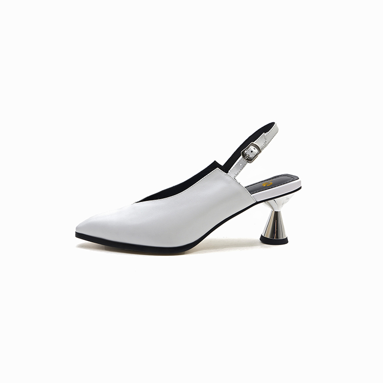 Belle Bout Dames Noir Femme Taille 3 5 ef11832 Blanc Chaussures Us Talons Cuir En 10 Pointu Pompes L'intention Sexy Ef11831 Étranges Initiale Femmes 0a4ZPPOY