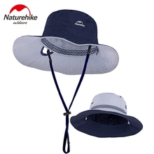 Naturehike Summer Outdoor Sun Hat Double Sides Hat Sunblock UPF50+ Fishing Cap Foldable Portable Storage Quick Drying Cap outfly folding sun hat cap cap outdoor foldable quick dry sun fishing fishing hat waterproof men sports duck cap