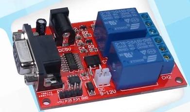 FREE SHIPPING SR-104A Serial control 2 relay module Microcontroller controller for delay relayFREE SHIPPING SR-104A Serial control 2 relay module Microcontroller controller for delay relay