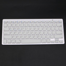 P Fashion Ultra-Slim White General High Quality Bluetooth Wireless Keyboard For PC Laptop Tablet Smart phone For iPad