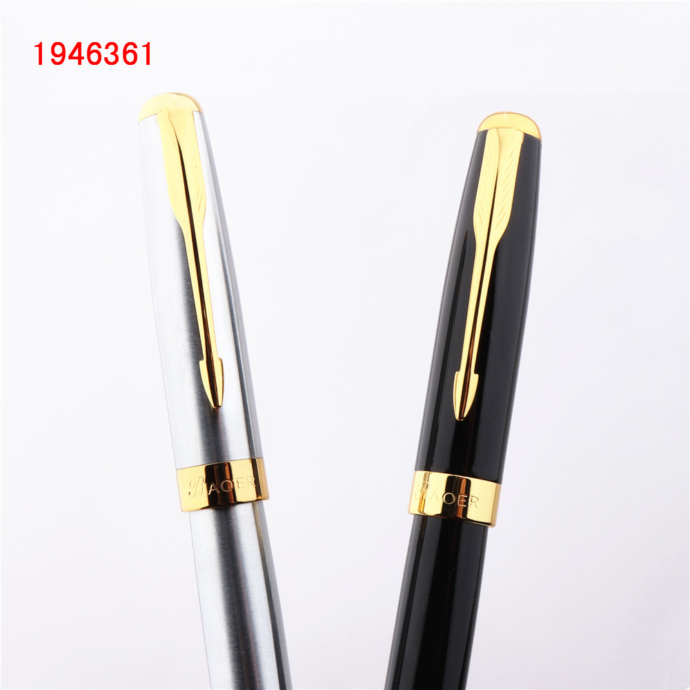 Luxury  high quality Baoer 388 Black Business office Medium nib Rollerball Pen