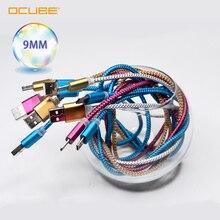 Cable Micro Usb de 9mm, Cable de datos de conector Extra largo para Oukitel C15 Pro C13 C12 C11 K7 Power K8 C8 K3, cargador de Cable