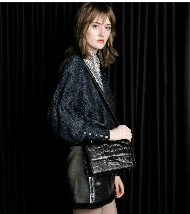 Бесплатная доставка, Высококачественная сумка из натуральной кожи, роскошная женская сумка